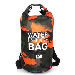 Outdoor Bag Camouflage Portable Rafting Diving Dry Bag (30L)