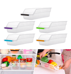 Refrigerator Space Saver Organizer Drawer