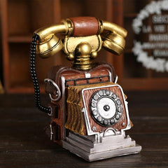 Retro Vintage Telephone Antique Model Café Décor