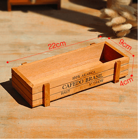 Succulent Storage Wooden Box