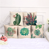 Image of Succulent Throw Pillow Cushion Covers