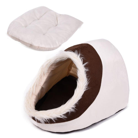 Super Warm Pet Cave Bed