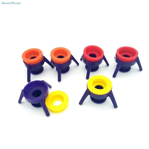 Squeeze Bottle Stand Cap (6 pieces)