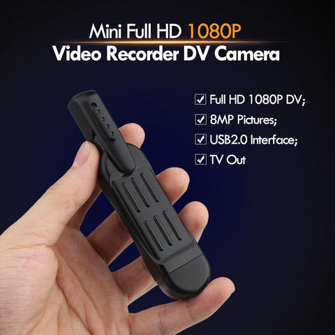 Mini Full HD Camera and Voice Recorder