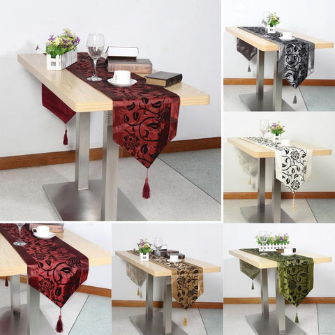 European Flower Style Table Cloth Cover