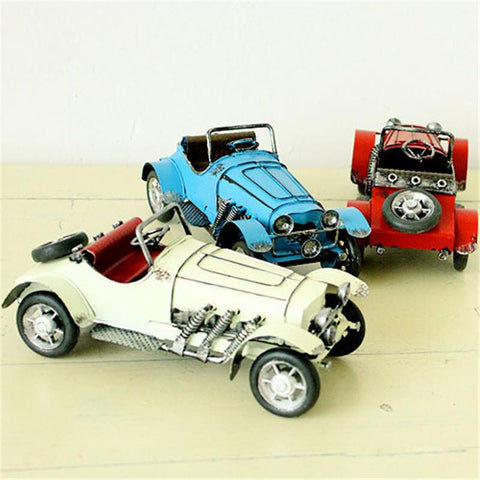 Vintage Car Figurine