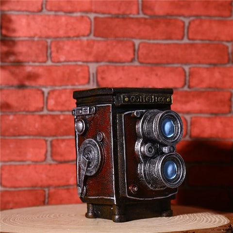 Vintage Camera Holder Table
