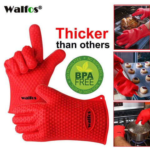 Heat Resistant Silicone Grilling Glove - Baking Essential