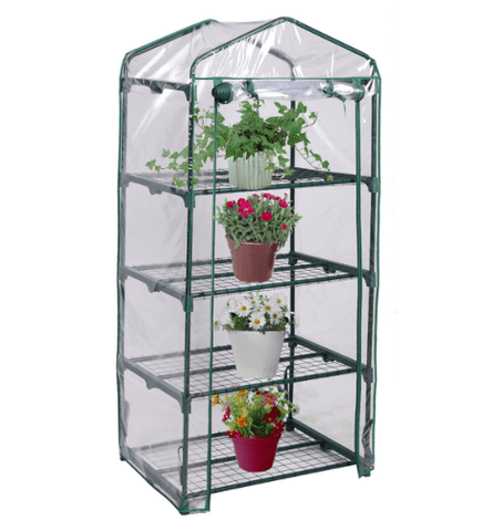 Greenhouse Shed Rack