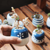 Image of Mini Succulent Ceramic Pots (Set Of 8)
