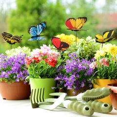 25pcs Butterfly Garden Ornament Decor