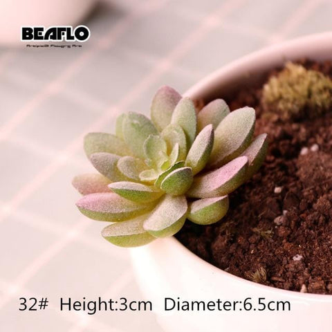 Artificial Succulents Garden Ornament Decoration