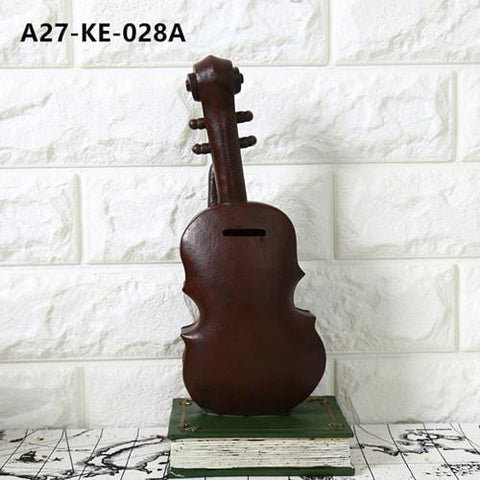 Music Coffee Décor Crafts Violin Saxophone Model