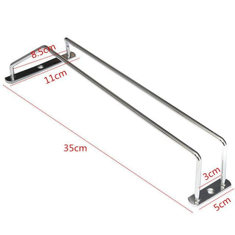 Stainless Steel Glass Holder For Bar And Home