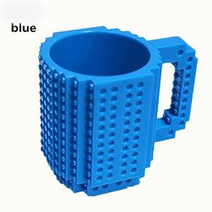 Customizable Brick Mug - DIY Building Block Mug