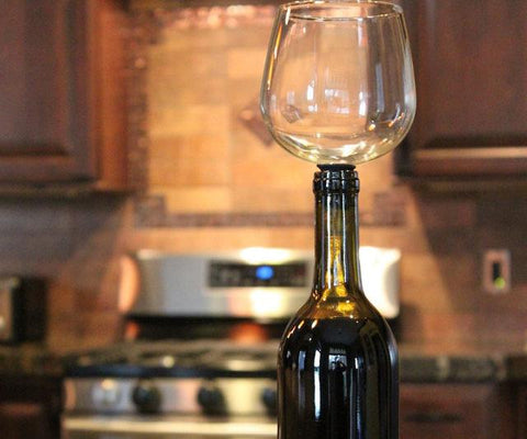 Wine Glass Bottle Dispenser