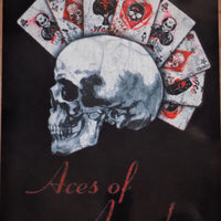 PLAQUE METAL alchemy skull ACES OF ANARCHY - TOFMOBILE