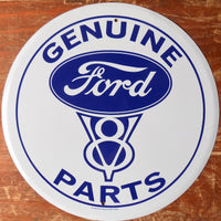 plaque métal FORD MUSTANG V8 PARTS - TOFMOBILE