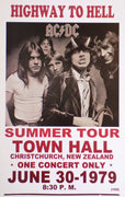 POSTER vintage AC/DC HIGHWAY TO HELL - TOFMOBILE