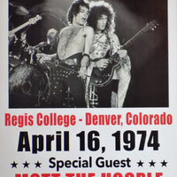 POSTER vintage QUEEN DENVER 1974 - TOFMOBILE