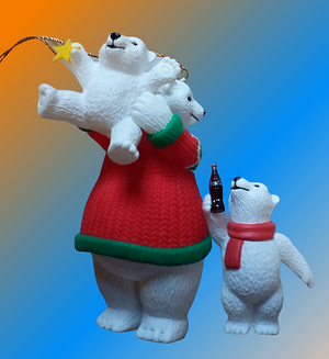 figurine ours COCA COLA POLAR BEAR collection