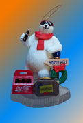 figurine ours COCA COLA voyage POLAR BEAR collection