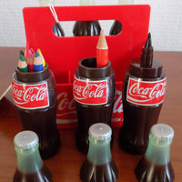 pack 6 mini bouteille crayon stylo COCA COLA