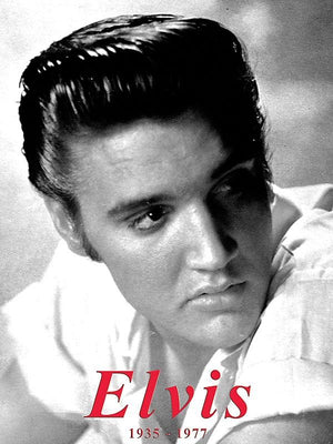 PLAQUE METAL vintage ELVIS PRESLEY - TOFMOBILE