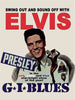 PLAQUE METAL vintage ELVIS PRESLEY G.I. BLUES - TOFMOBILE
