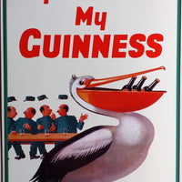 plaque métal vintage MY GOODNESS MY GUINNESS - TOFMOBILE