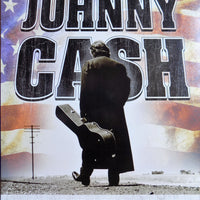 PLAQUE METAL vintage JOHNNY CASH i walk the line - TOFMOBILE
