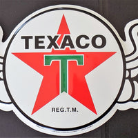 plaque métal vintage TEXACO - TOFMOBILE