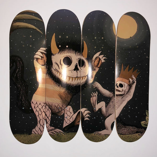WHERE WILD THINGS DIE (Skate Decks)