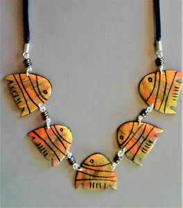 Deva fish necklace