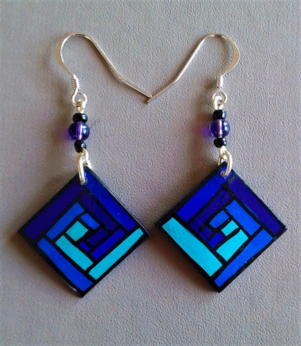 Blues earrings