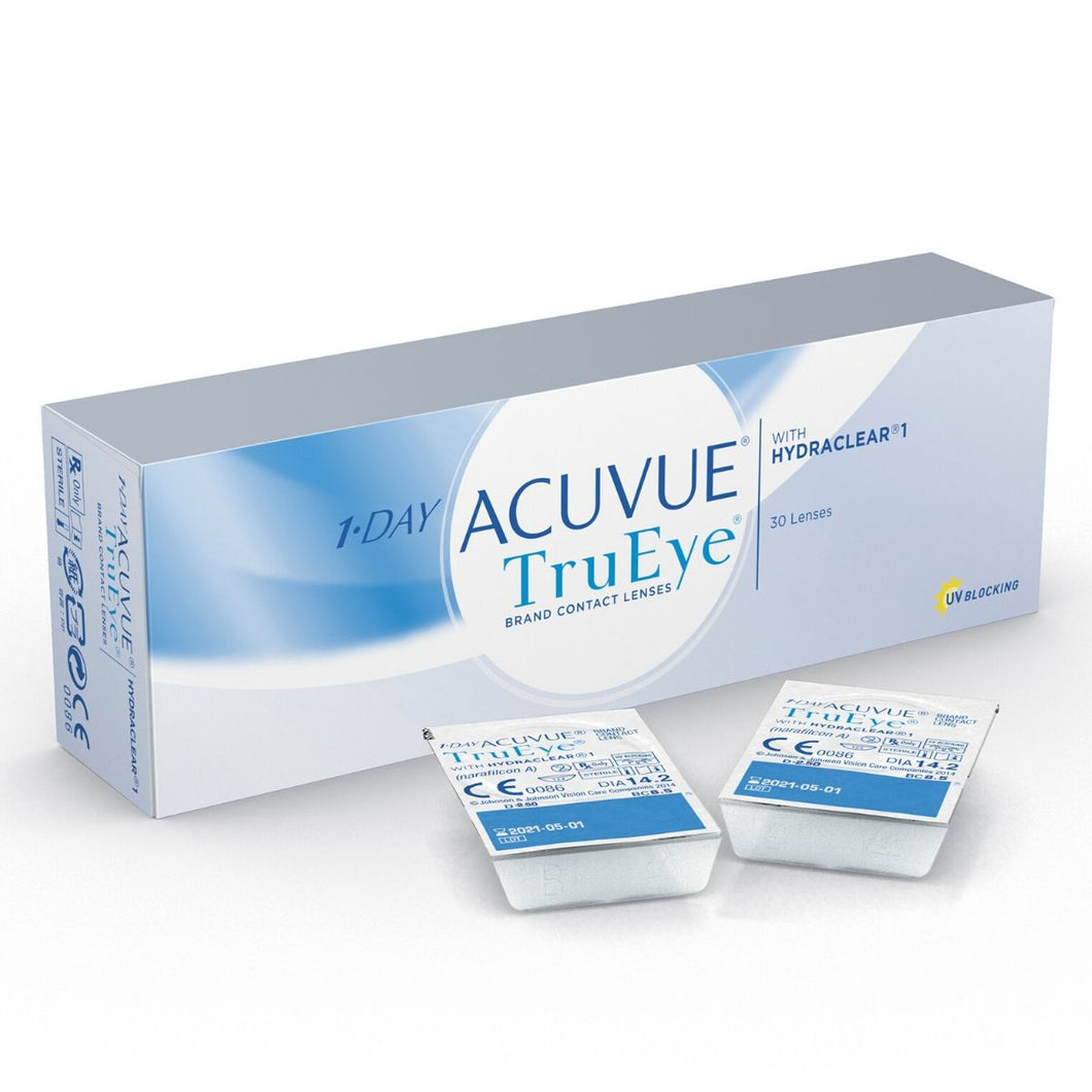 Acuvue True Eye 1 Day Disposable {30 Lens pack}