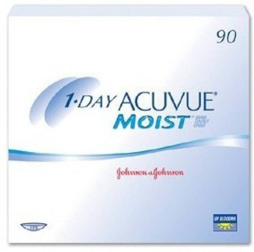 Acuvue Moist 1 Day Disposable {90 Lens}