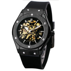 Matthew Wiles Skeleton Luxury Automatic Watch – Black MW0022