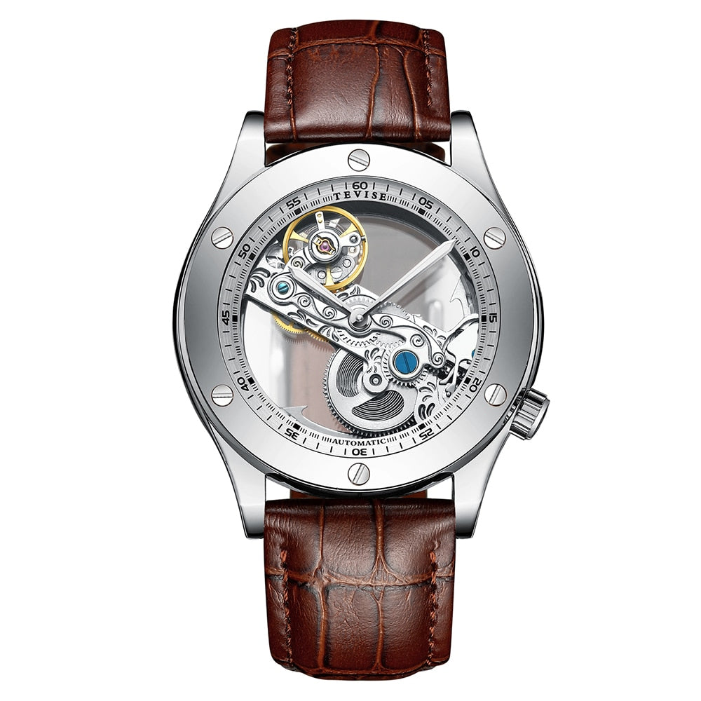Matthew Wiles Business Automatic Mechanical Watch – Brown MW0020