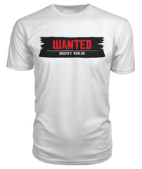 Wanted BOUNTY 100$ Western Red dead T-shirt	 Premium Unisex Tee