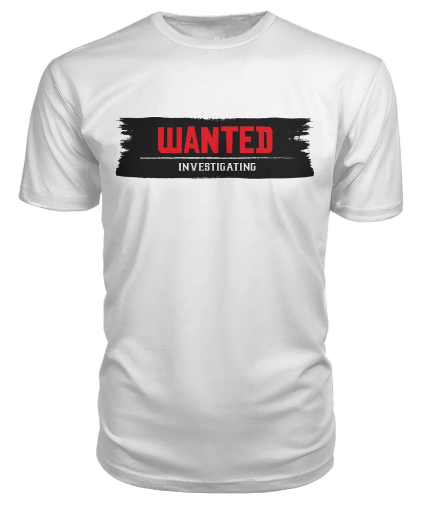 Wanted investigating Western Red dead T-shirt Premium Unisex Tee