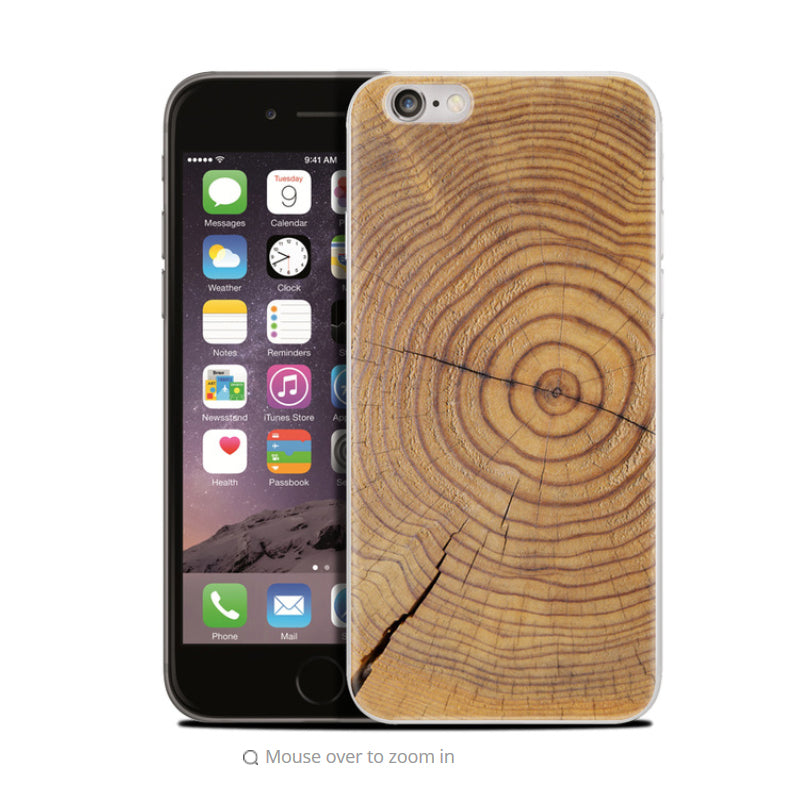 Wood case Design For iPhone Soft Phone Case Silicone Back Cover NEW