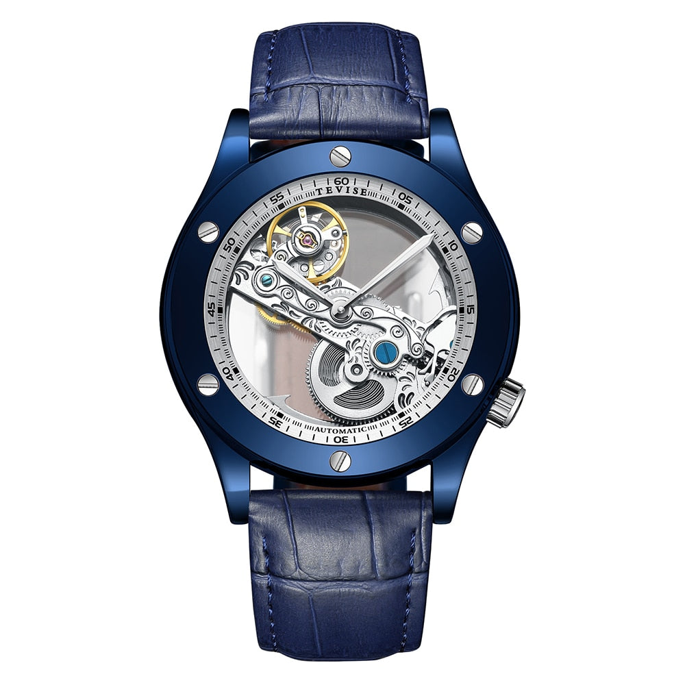 Matthew Wiles Business Automatic Mechanical Watch – Blue MW0018