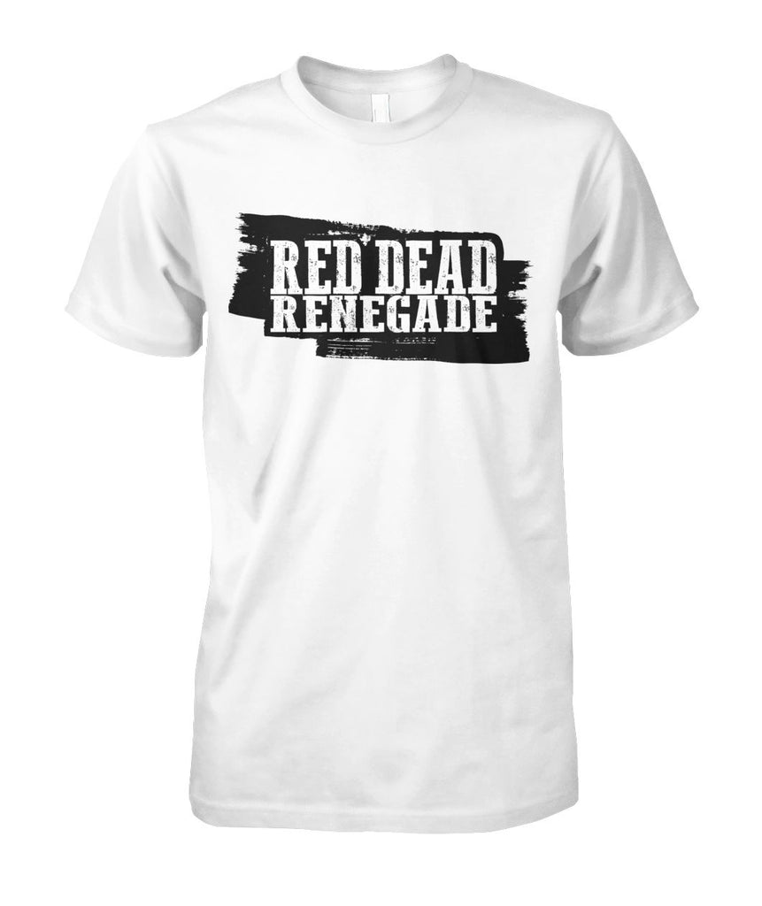 Red dead Renegade Western T-shirt Unisex Cotton Tee