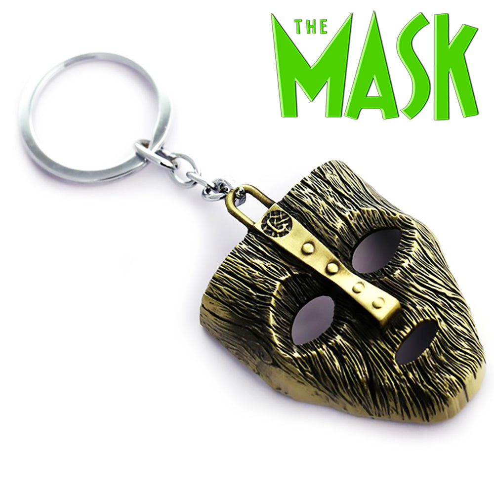 The Mask Movie Key Chain Metal Keychain Keyring NEW