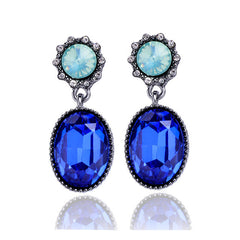 Oval Earrings Shinning Elegant for Women Earrings