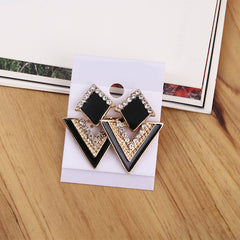 Luxury Triangle Earrings For Women