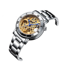 Ladies Automatic Skeleton Watch