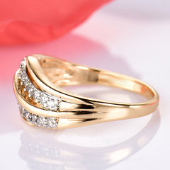 Gold-Color Engagement Ring