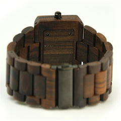 Wooden Band hombre Watch